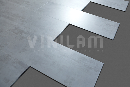 VINILAM Клик 4 мм Виниловый ламинат VINILAM (Бельгия) 2240-2 Саксония (камень)