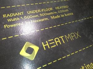 Саморегулирующаяся пленка Marpe black heat 50 см
