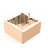 Комплектующие Корбка для наружного монтажа терморегулятора кремовая | КИТMIX Мурманск