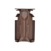 Тёплый плинтус Тепловое оборудование Угловой элемент внутренний (моноцвет)