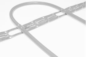 Для монтажа греющего кабеля Комплектующие Монтажная перфорированная лента для крепления кабельных систем