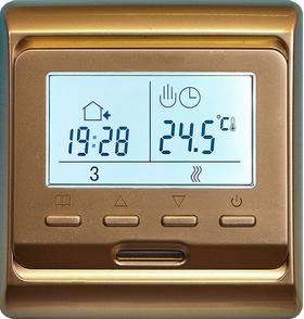 терморегулятор 51 золотого цвета